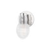 This item: Jenna Polished Nickel One-Light Wall Sconce