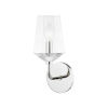 This item: Kayla Polished Nickel One-Light Wall Sconce