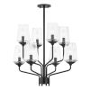 This item: Kayla Old Bronze Eight-Light Chandelier