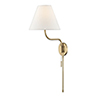 This item: Patti Aged Brass 1-Light 10.5-Inch Wall Sconce
