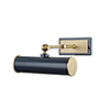 This item: Holly Aged Brass Navy 1-Light Eight-Inch Wall Sconce