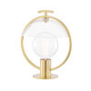 This item: Ringo Aged Brass One-Light Table Lamp