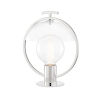 This item: Ringo Polished Nickel One-Light Table Lamp
