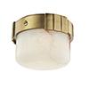This item: Beckett Aged Brass LED 6-Inch Flush Mount
