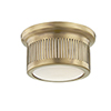 This item: Bangor Aged Brass LED 6-Inch Flush Mount
