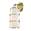 This item: Sovereign Aged Brass LED 7-Inch Wall Sconce