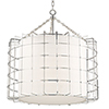 This item: Sovereign Polished Nickel LED 31-Inch Pendant