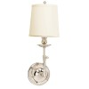 This item: Logan Polished Nickel One-Light Wall Sconce