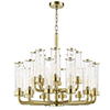 This item: Soriano Aged Brass 20-Light 32-Inch Chandelier