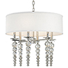 This item: Persis Polished Nickel 6-Light 24-Inch Pendant