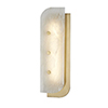 This item: Yin and Yang Aged Brass LED 5.5-Inch Wall Sconce