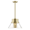 This item: Paoli Aged Brass 1-Light 15.5-Inch Pendant