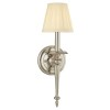 This item: Jefferson Polished Nickel One-Light Wall Sconce