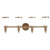 This item: Chatham Aged Brass Four-Light Bath Fixture