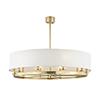 This item: Durham Aged Brass 10-Light 42-Inch Pendant