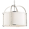 This item: Infinity Polished Nickel 8-Light 24-Inch Pendant