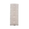 This item: Hebron Polished Nickel Four-Light Wall Sconce with Frosted Glass