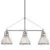 This item: Haverhill Polished Nickel Three-Light Island Light