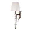 This item: Norwich Polished Nickel One-Light Sconce