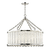 This item: Shelby Polished Nickel 8-Light 28-Inch Pendant