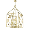 This item: Octavio Gold Leaf 8-Light 24-Inch Pendant