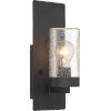 This item: Indie Black 5-Inch One-Light Wall Sconce