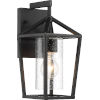 This item: Hopewell Black 6-Inch One-Light Outdoor Wall Lantern