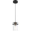 This item: Antebellum Black One-Light Mini-Pendant
