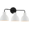This item: Sloan Black 22-Inch Three-Light Vanity