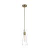 This item: Bahari Vintage Brass One-Light Mini Pendant