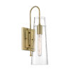 This item: Alondra Vintage Brass One-Light Wall Sconce