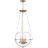This item: Odessey Brass Four-Light Pendant