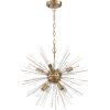 This item: Cirrus Brass Eight-Light Chandelier