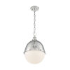 This item: Ronan Polished Nickel 19-Inch One-Light Pendant