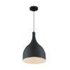 This item: Bellcap Matte Black 16-Inch One-Light Pendant