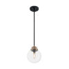 This item: Axis Matte Black and Brass One-Light Pendant