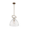 This item: Teresa Burnished Brass 17-Inch One-Light Pendant