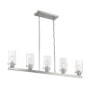 This item: Sommerset Brushed Nickel Five-Light Pendant