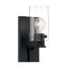 This item: Sommerset Matte Black One-Light Bath Vanity