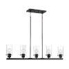 This item: Sommerset Matte Black Five-Light Pendant