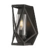 This item: Zemi Black One-Light Wall Sconce