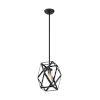 This item: Zemi Black One-Light Mini Pendant