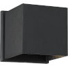 This item: Lightgate Black One-Light LED Outdoor Square Sconce