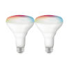 This item: Starfish White 9.5W RGB and Tunable LED Bulb, Pack of 2