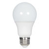 This item: SATCO Frosted White LED A19 Medium 11 Watt Type A Bulb with 4000K 1100 Lumens 80 CRI and 220 Degrees Beam
