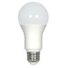 This item: SATCO Frosted White LED A19 Medium 9.8 Watt Type A Bulb with 3000K 800 Lumens 80 CRI and 220 Degrees Beam