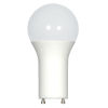 This item: SATCO Frosted White LED A19 GU24 9.8 Watt Type A Bulb with 4000K 800 Lumens 80 CRI and 220 Degrees Beam