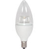 This item: SATCO Clear LED Torpedo Candelabra 2.8 Watt Candle LED Light Bulb with 3000K 160 Lumens 80 CRI and 290 Degrees Beam