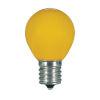 This item: SATCO Ceramic Yellow LED S11 Medium 1.2 Watt Sign and Indicator Bulb with K Lumens CRI and 360 Degrees Beam