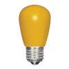 This item: SATCO Ceramic Yellow LED S14 Medium 1.4 Watt Sign and Indicator Bulb with K Lumens CRI and 360 Degrees Beam